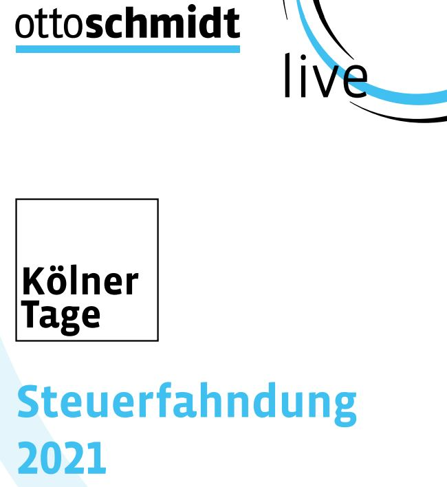 Kölner Tage Steuerfahndung